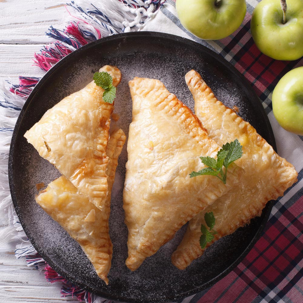 Turnovers de manzana