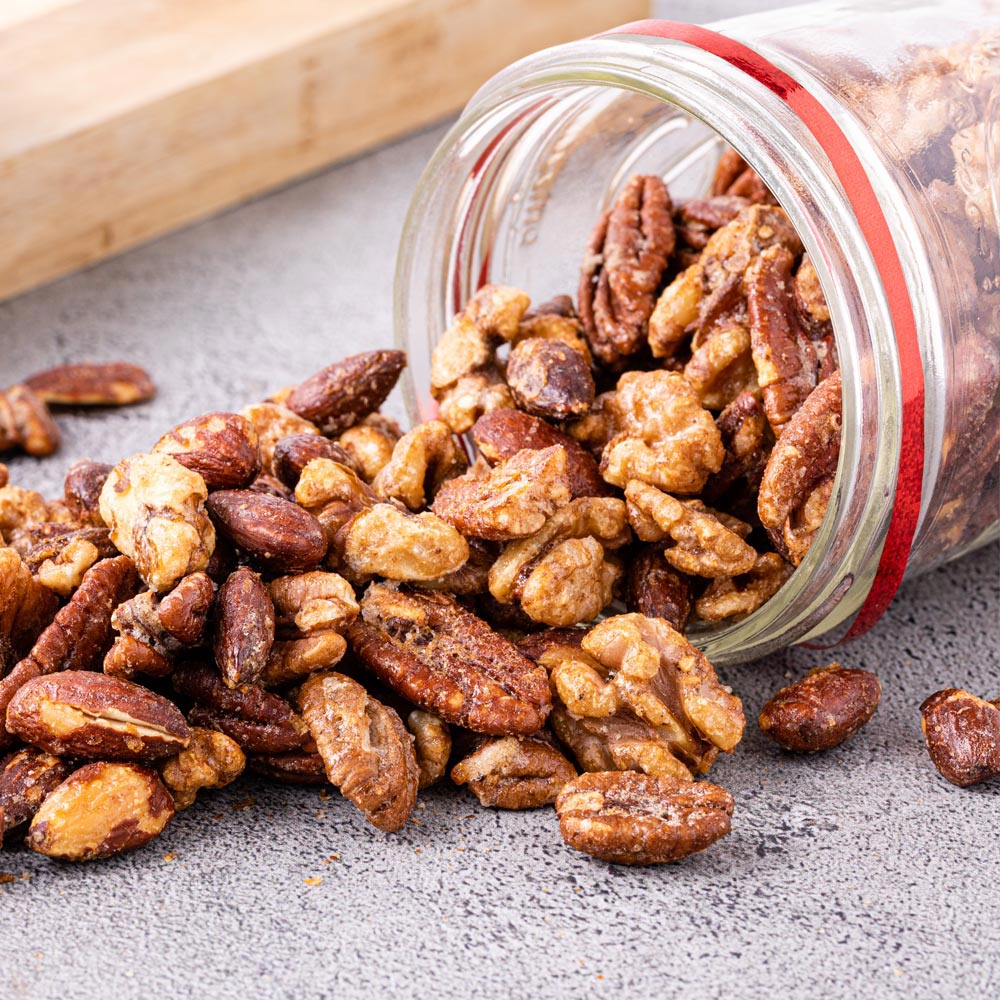 Candied Mixed Nuts
