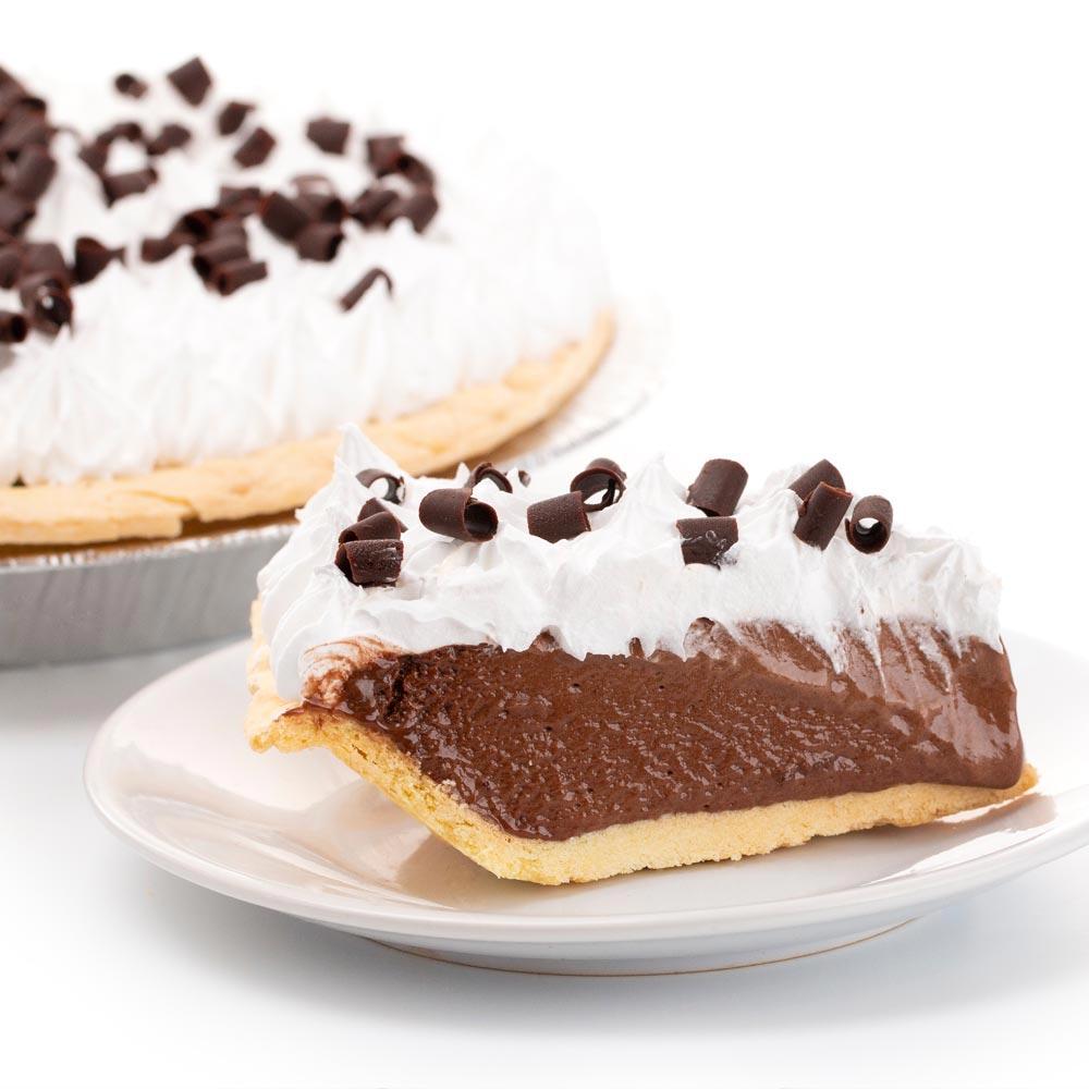 Tarta de chocolate y crema