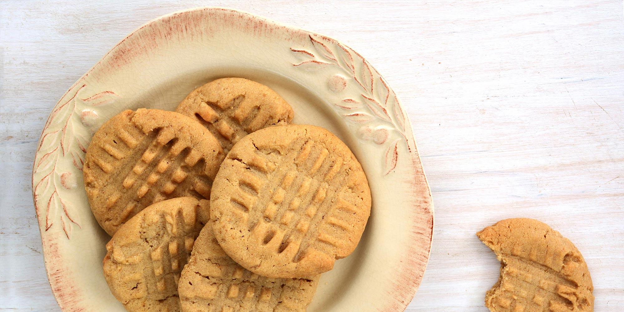 Galletas clásicas de mantequilla de maní