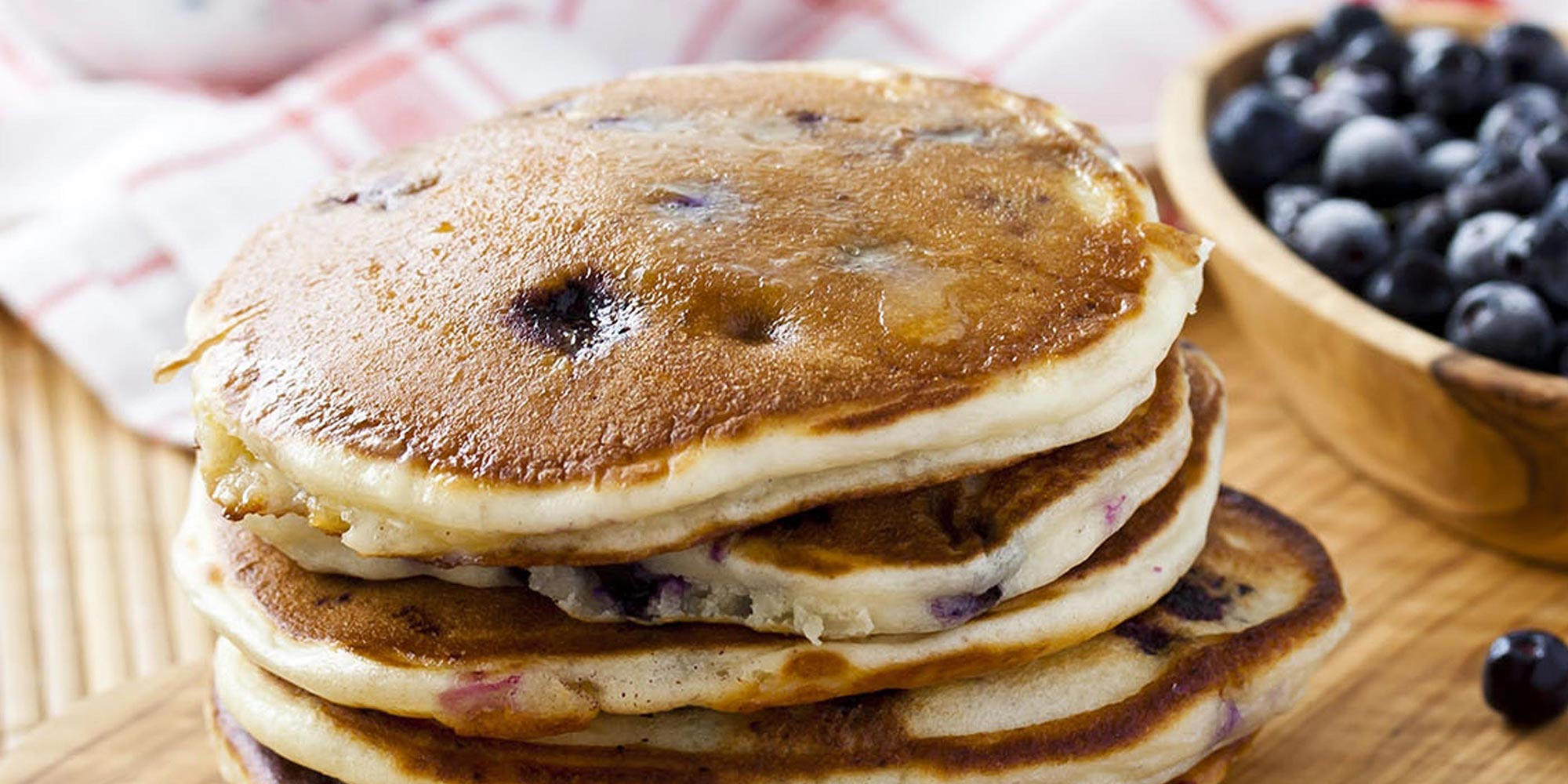 Gluten-Free Almond Blueberry Pancakes Recipe | No Calorie ...
