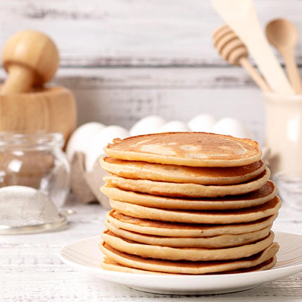 Gluten-Free No Syrup Needed Pancakes
