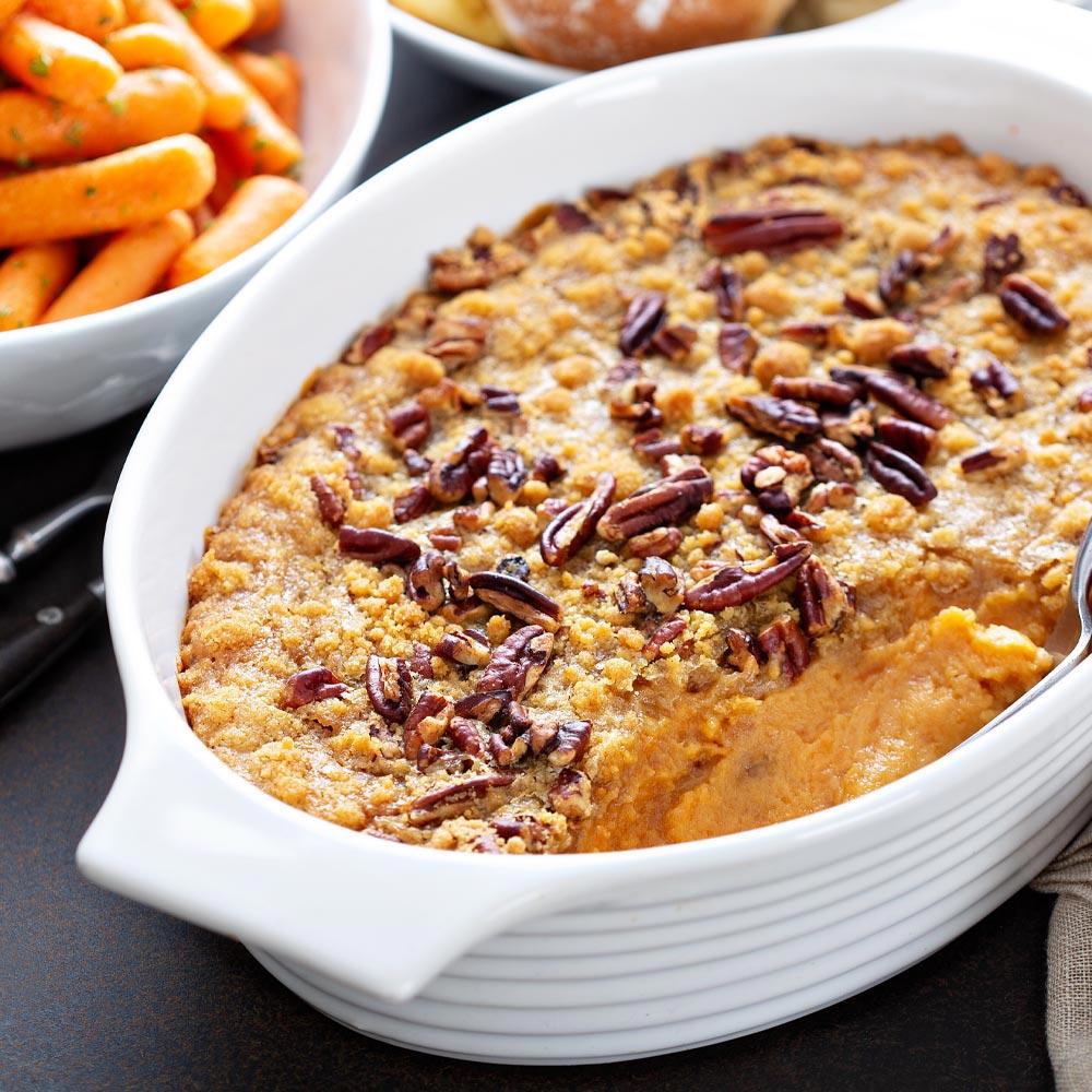 Cazuela de batata gourmet