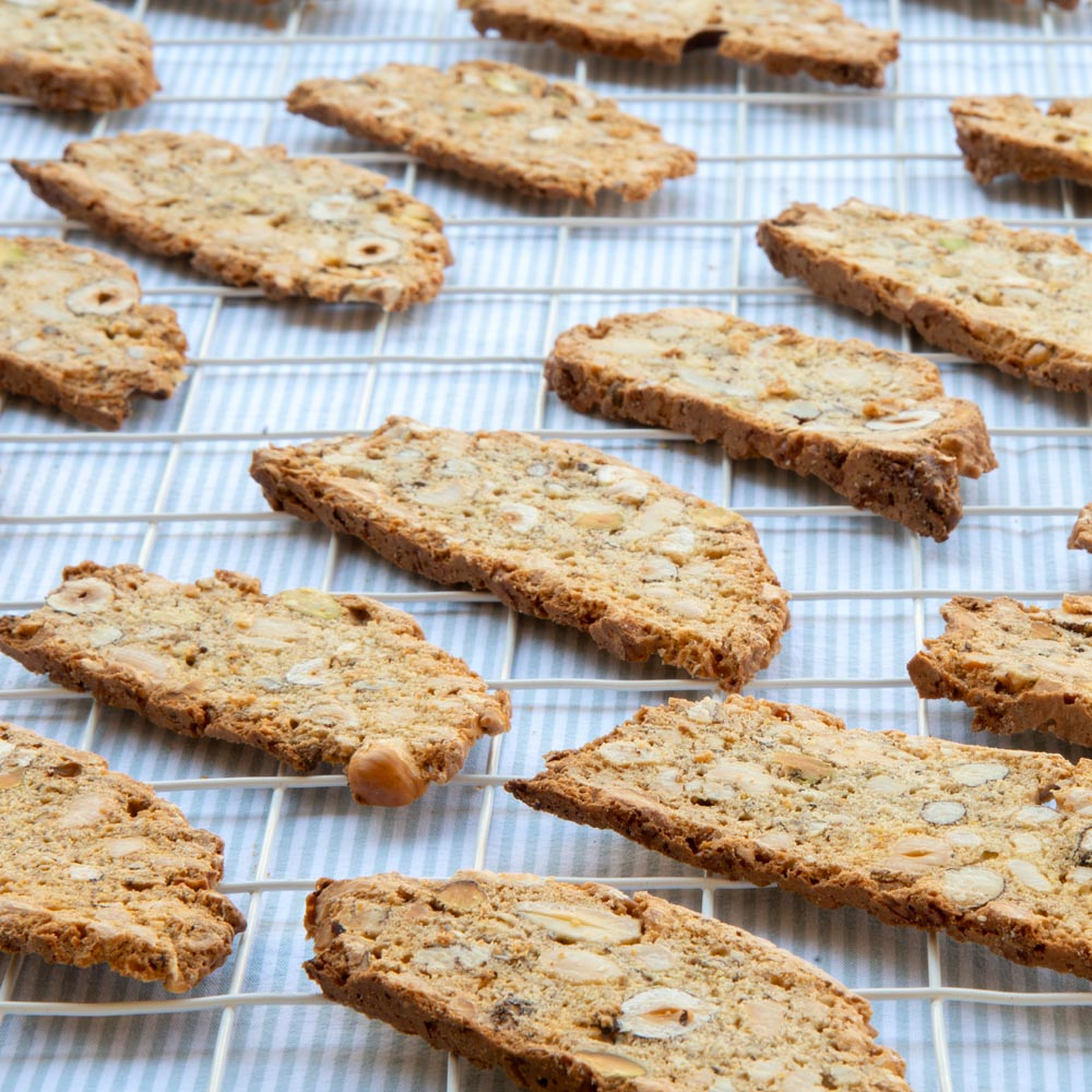 Biscotti de avellana
