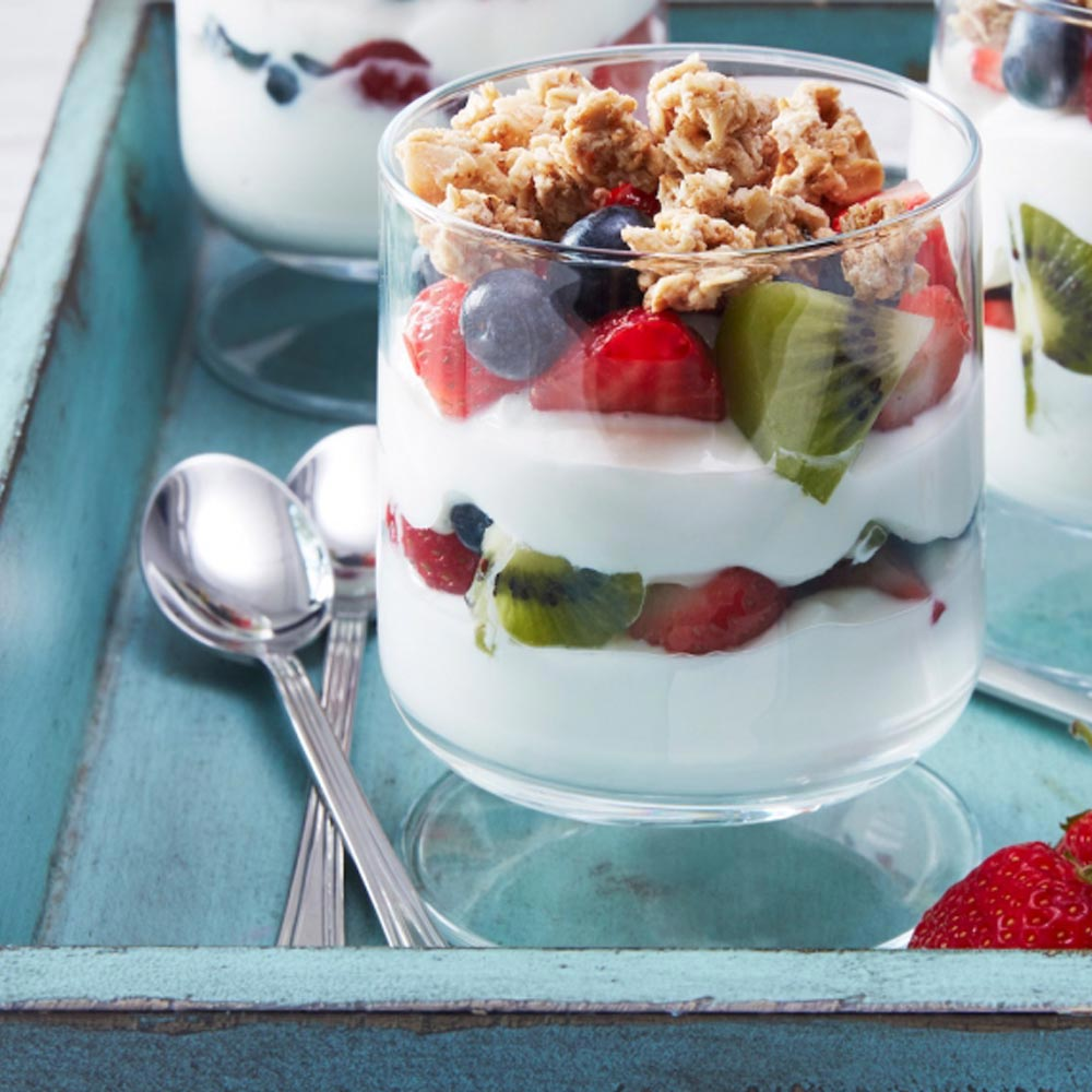Mixed Berry Yogurt Parfait