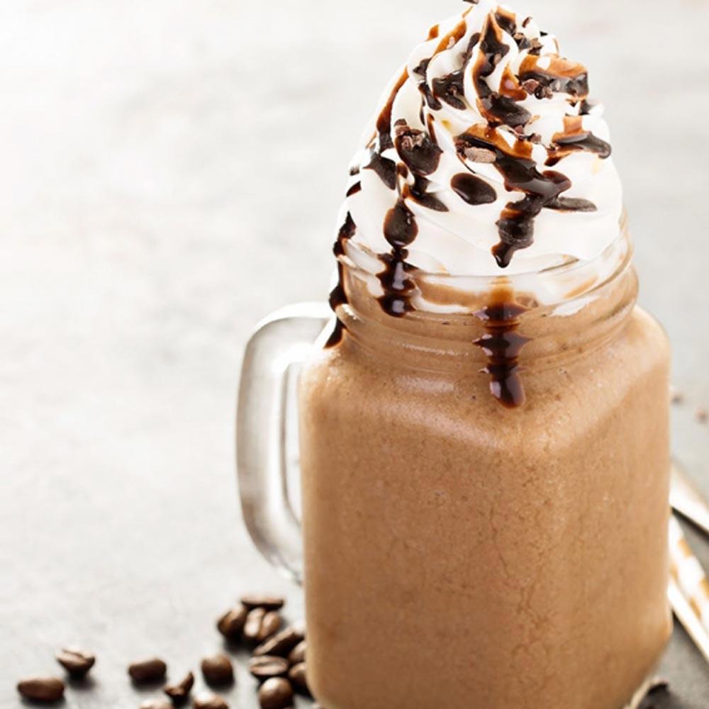 Café frappé con moca de Java
