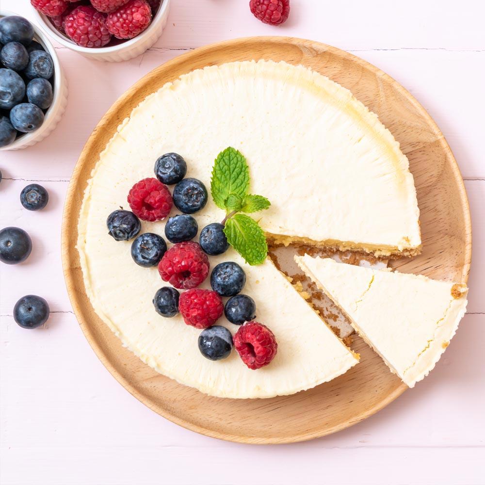Cheesecake al estilo de Nueva York