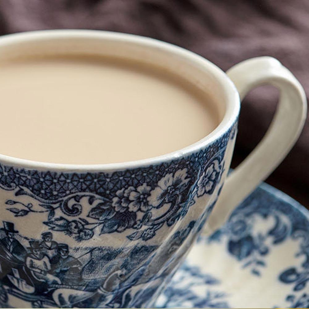 Chai latte con leche de avena