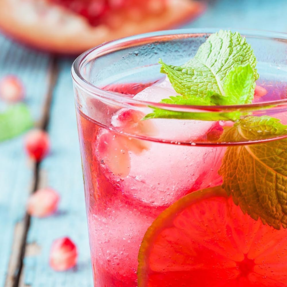 Pomegranate Spritzer Cocktail