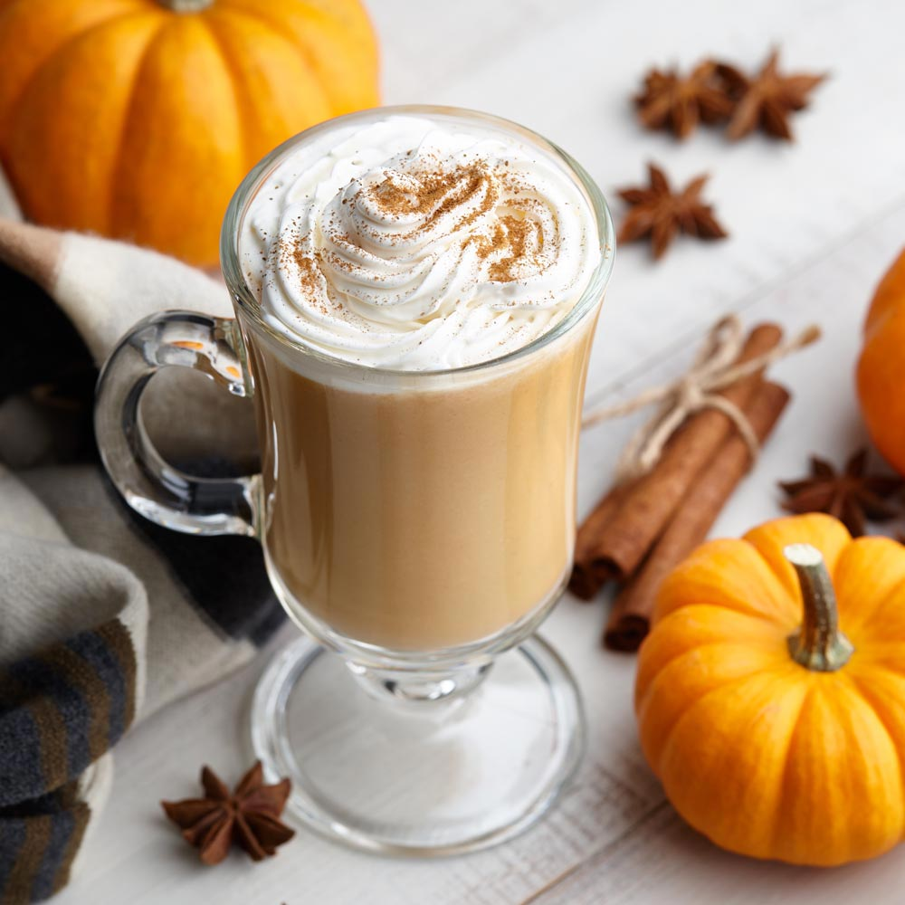Pumpkin Pie Spiced Coffee