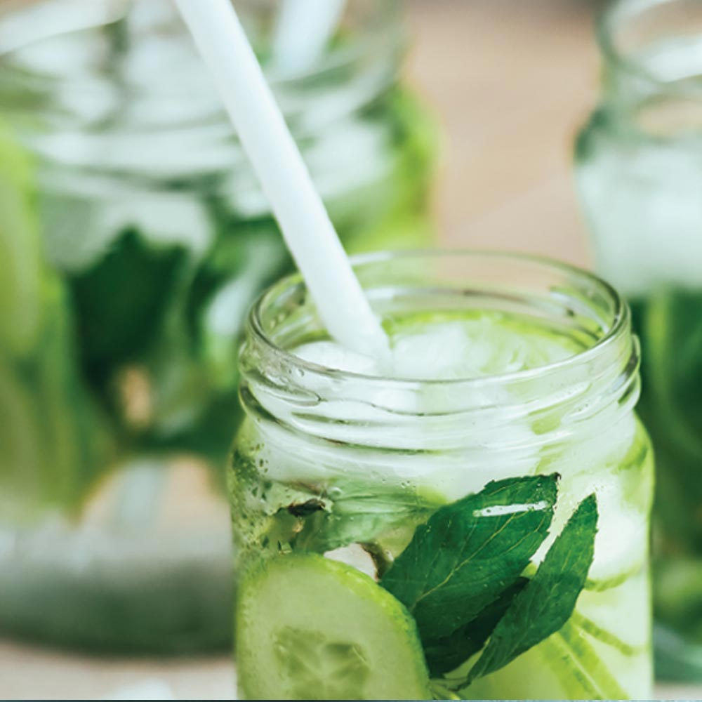 Spicy Cucumber Breeze Mocktail
