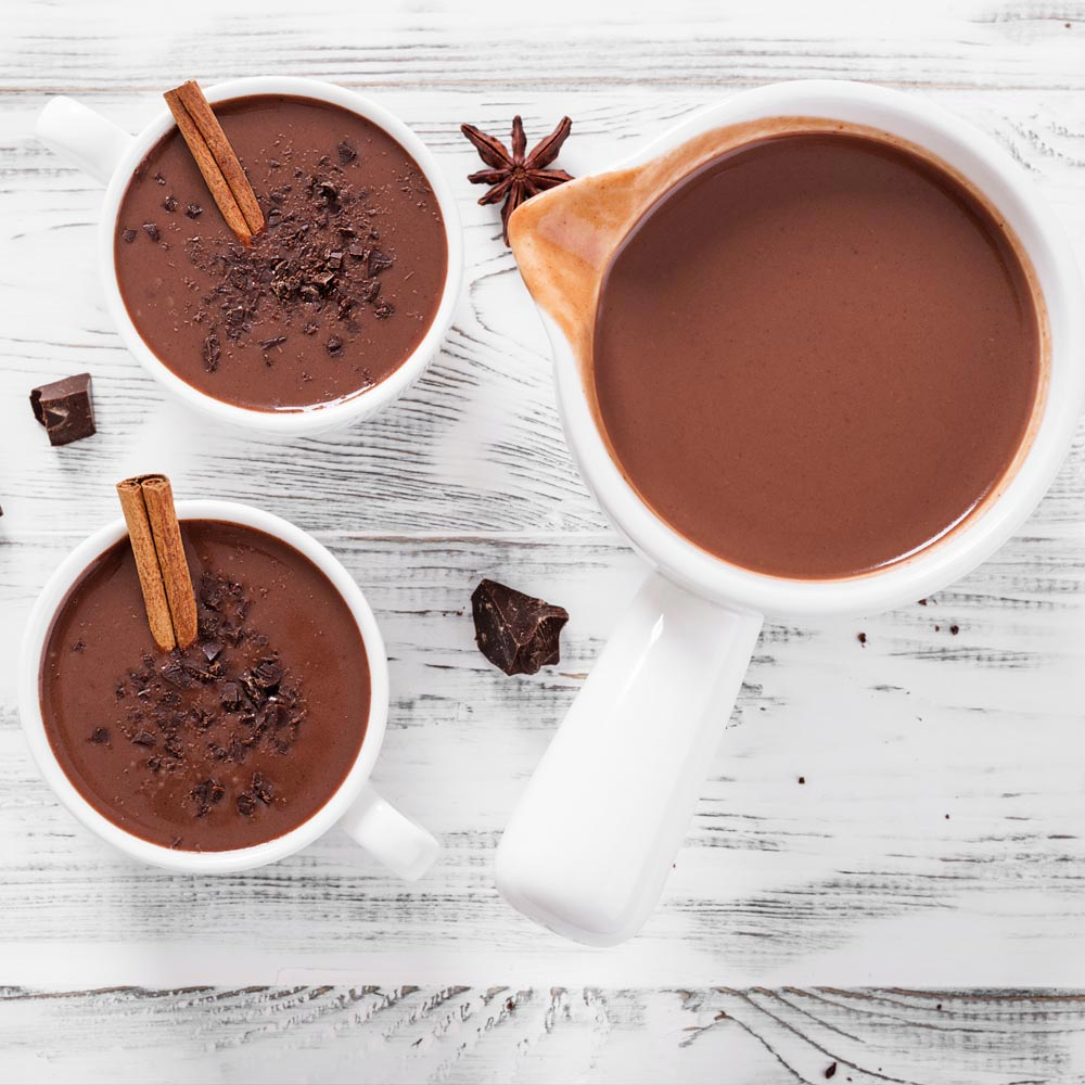 Spicy Dark Hot Chocolate Mix
