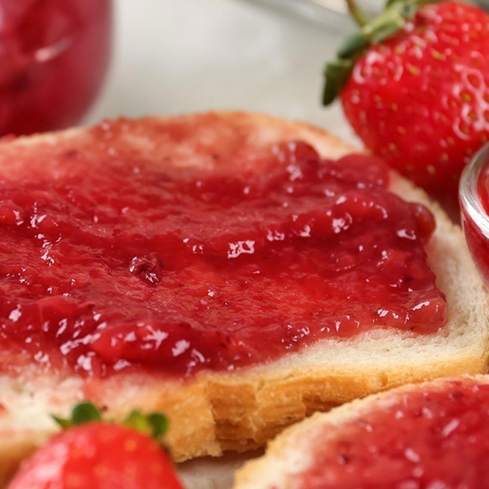 Jalea de fresas sin azúcar