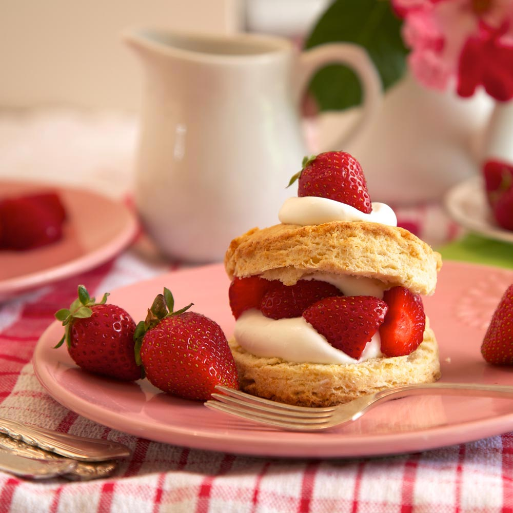 Sweet and Tart Strawberry Shortcake