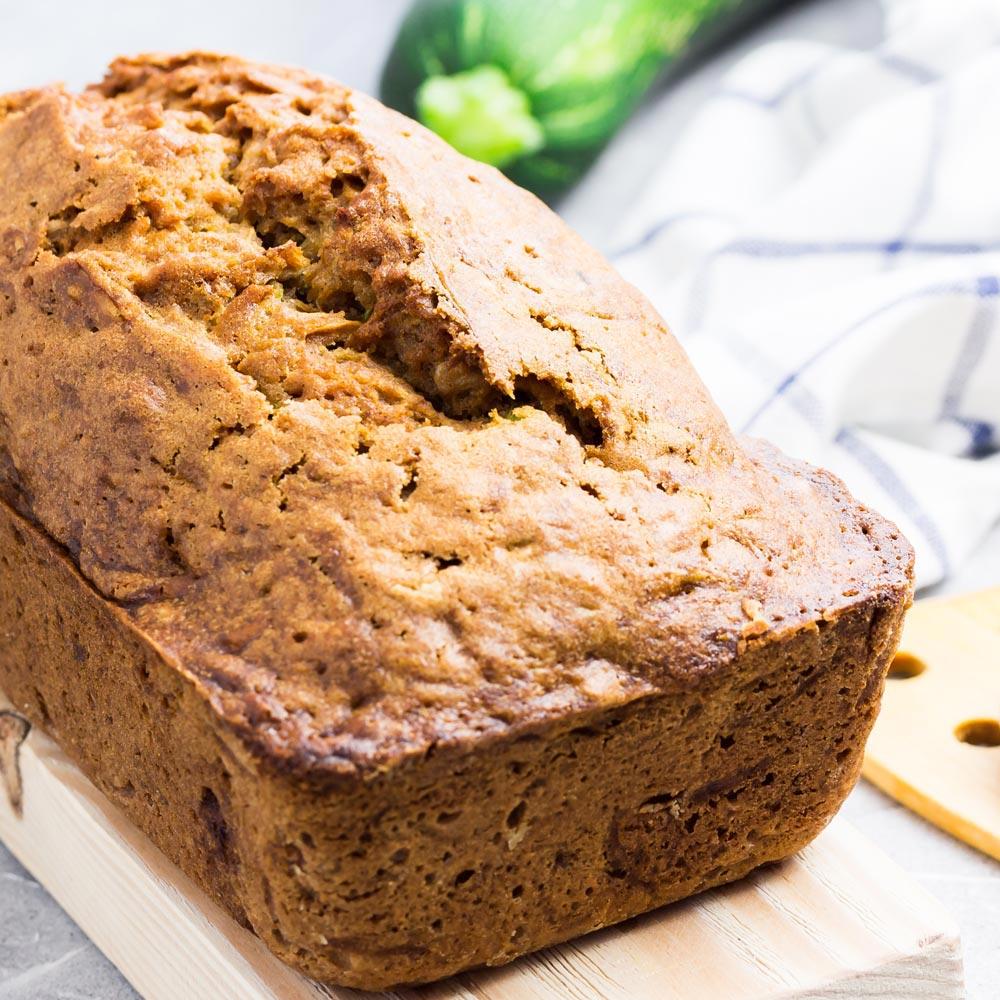 Pan de nuez de calabacín
