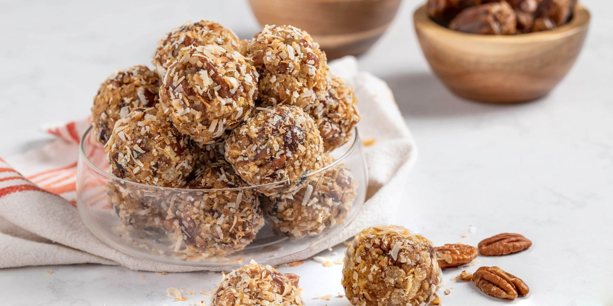 Coconut Date Nut Balls