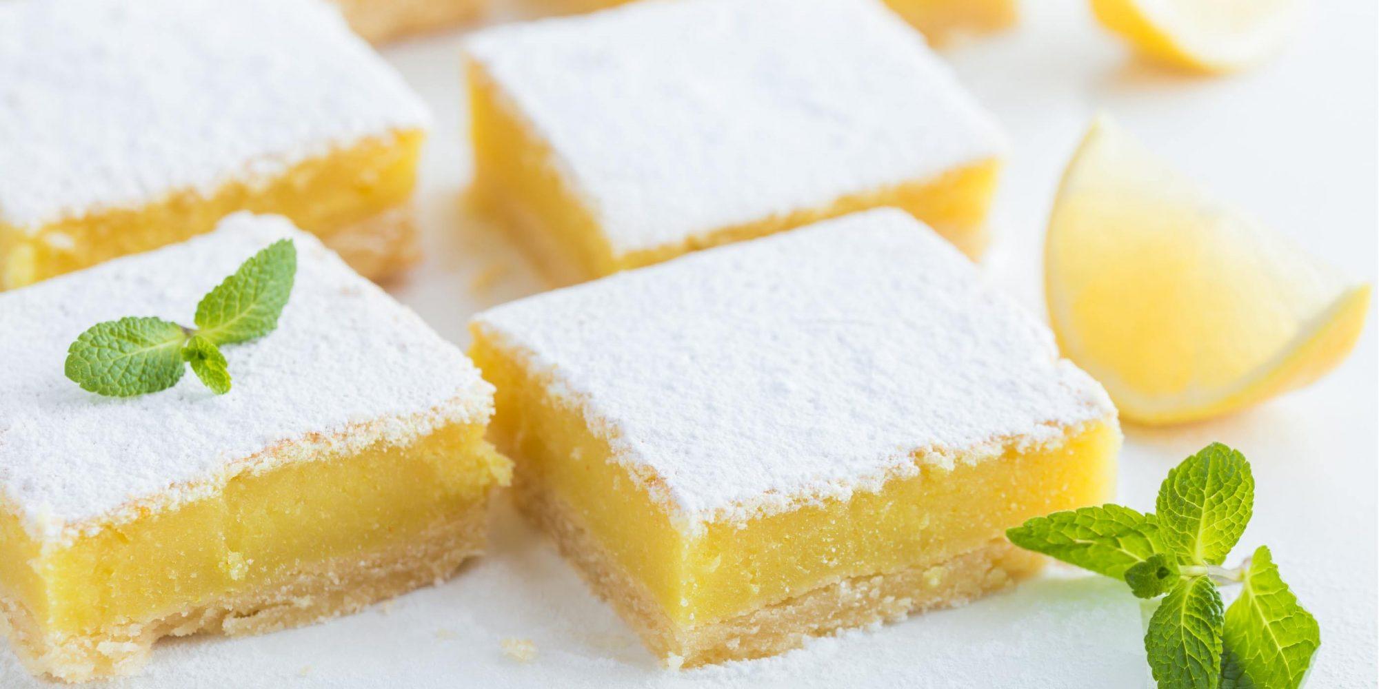 Creamy Lemon Bars