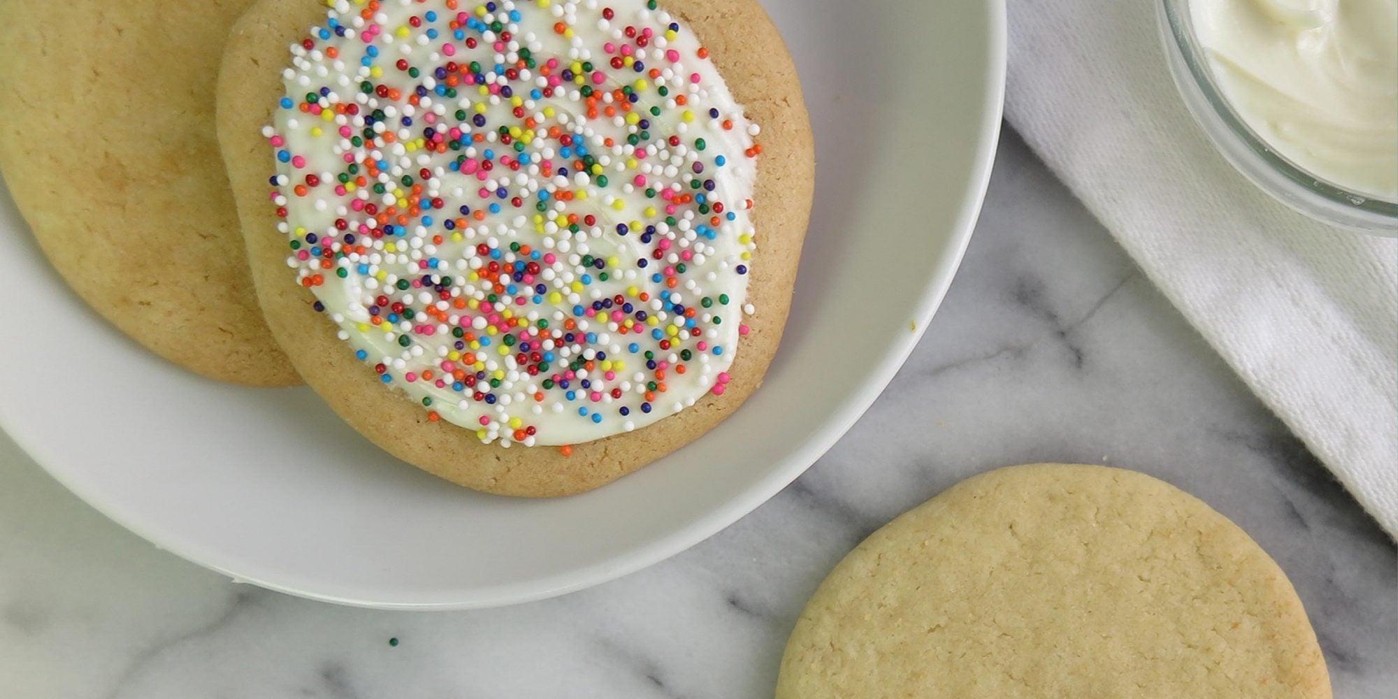No-Sugar Sugar Cookies