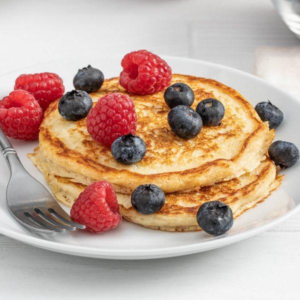 Oat Bran Pancakes