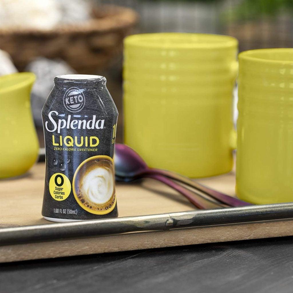 liquid splenda sweetener sugar zero calories carbs substitute sweeteners drinks calorie recipe recipes