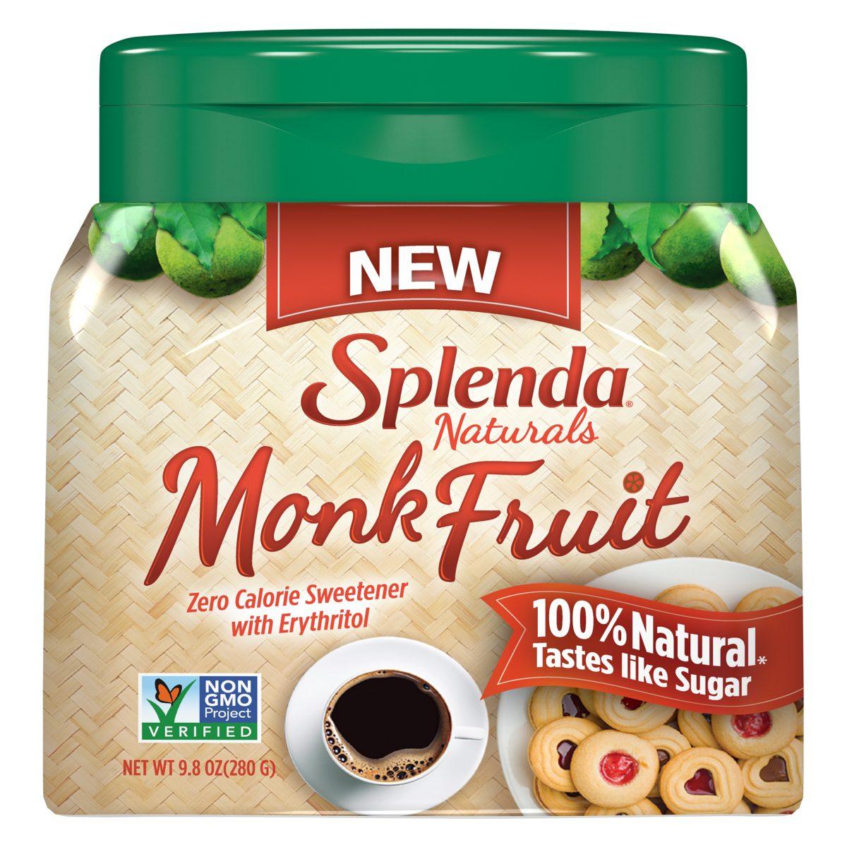 Splenda Monk Fruit Sweeteners