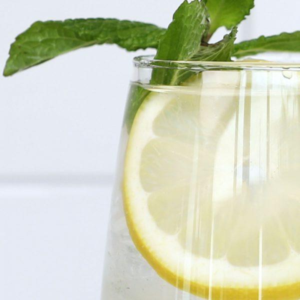 Lemon Mint Vodka Spritz