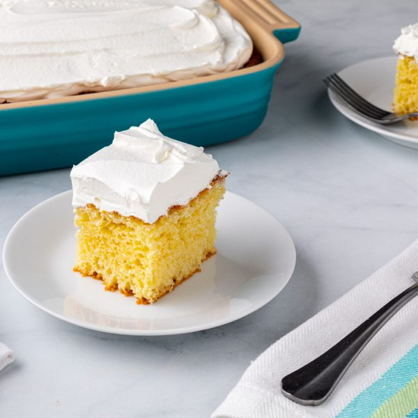 Very Vanilla Cake with Whipped Frosting