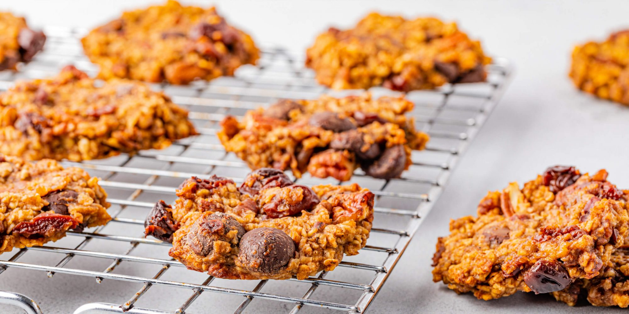 Cherry Chocolate Chip Trail Mix Cookies