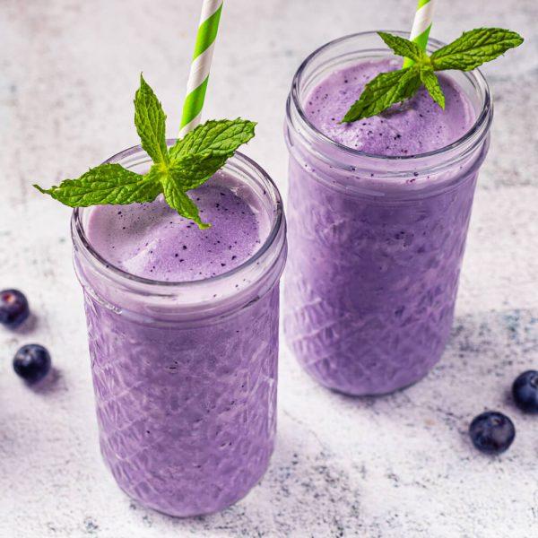 Blueberry Vanilla Smoothie