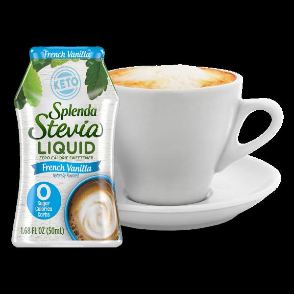 splenda liquid made with stevia - french vanilla