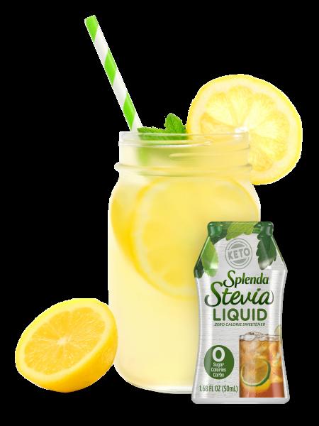 liquid stevia with lemonade