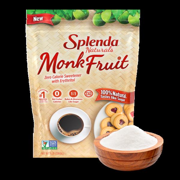 splenda monk fruit bag