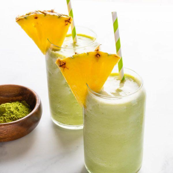 Pineapple Matcha Smoothie