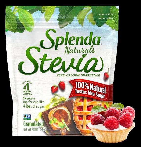 splenda stevia granulated sweetener