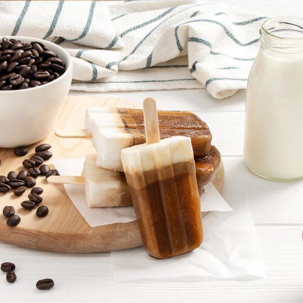 Keto Vietnamese Coffee Pops