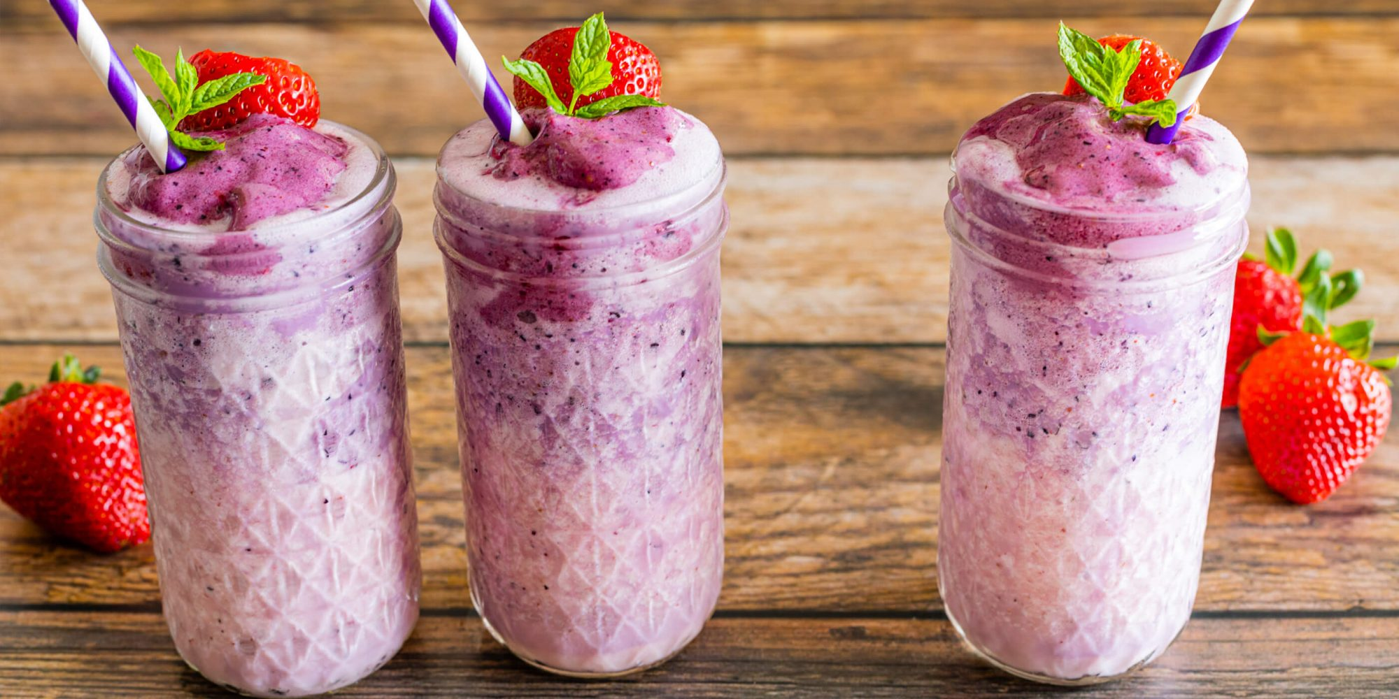 Ombre Berry Smoothie